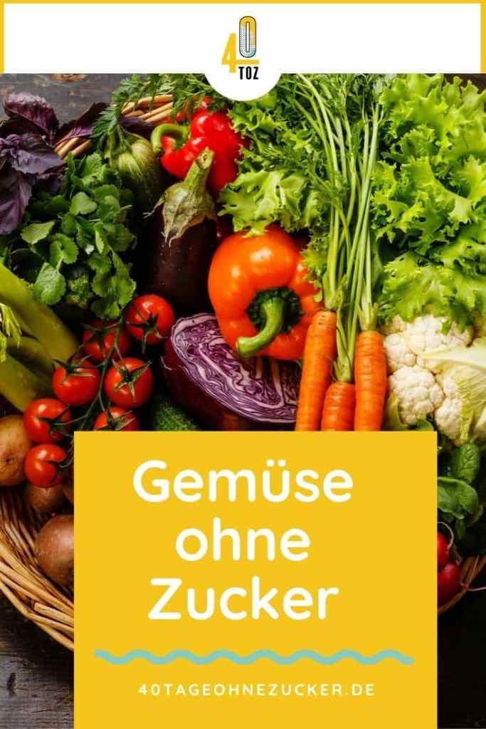 Gemüse ohne Zucker im Supermarkt kaufen
