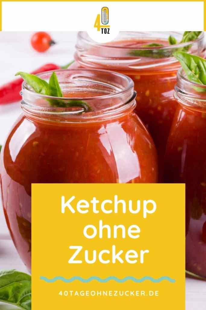 Ketchup ohne Zucker im Supermarkt kaufen
