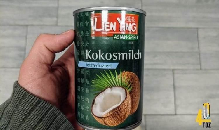 Kokosmilch fettreduziert von Lien Ying
