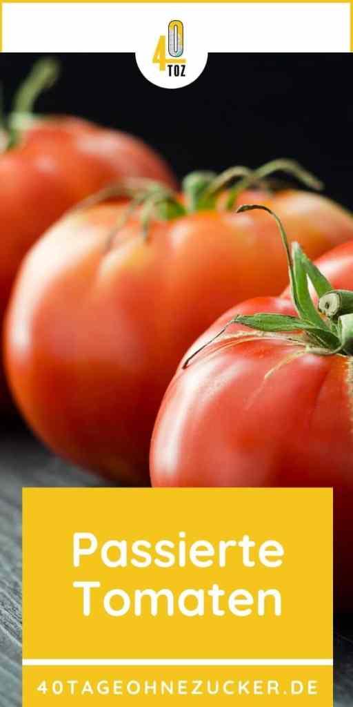 Passierte Tomaten - so einfach gehts