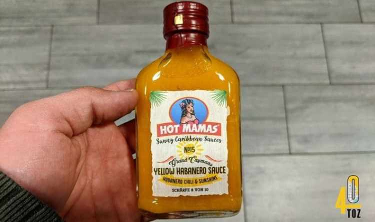 Yellow Habanero Sauce von Hot Mamas