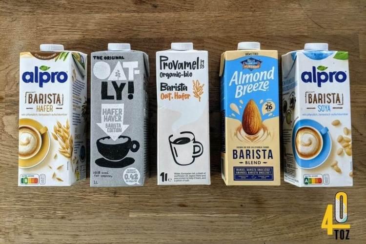 Barista Milchersatz für Kaffee