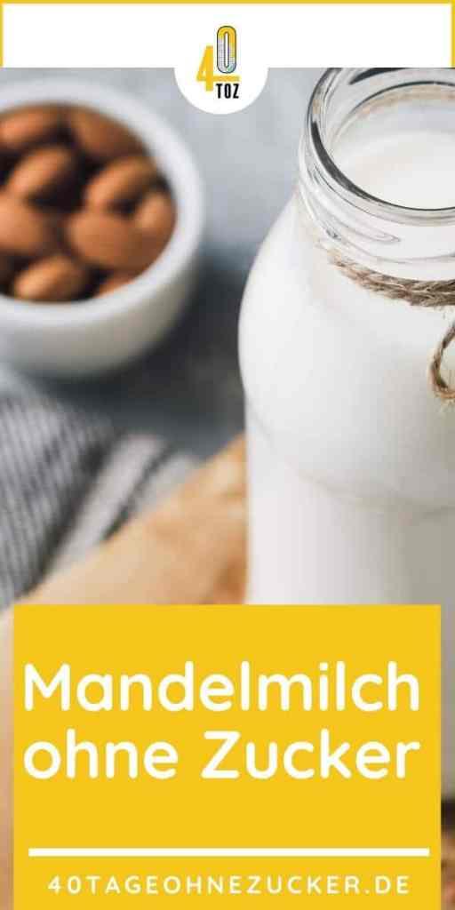 Mandelmilch ohne Zucker kaufen