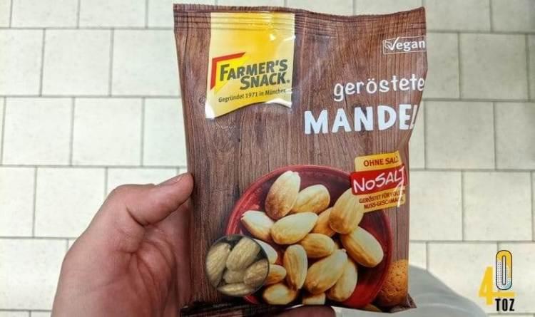 Mandeln geröstet von Farmers Snack