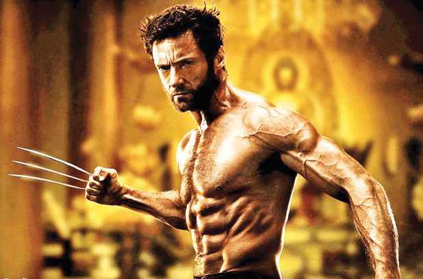 hugh jackman wolverine measure body fat percentage