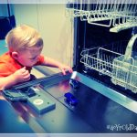 Indy playing on the dishwasher prt 3