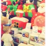 Blow-up Santa
