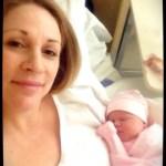 Mumma and new baby