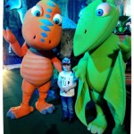 Jurassic Creatures Dinosaur Train Characters Buddy and Tiny