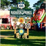 Radiator Springs signposts.