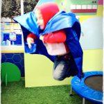Hey Duggee Super hero in flight