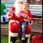 Indy and Santa