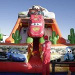 Lightning McQueen Jumping Castle