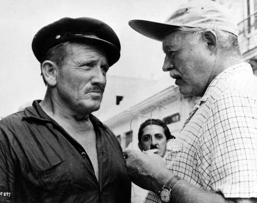 Spencer Tracy & Ernest Hemingway