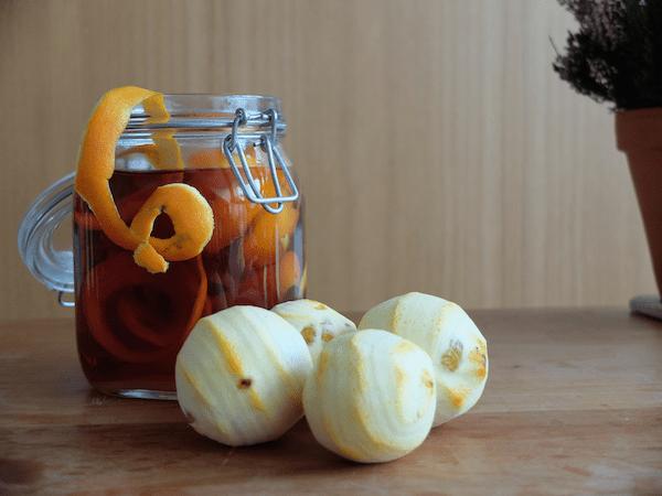 mangia minga // Homemade Orange Brandy