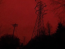 photography red Grunge dark punk gothic glow aesthetic intimatered •