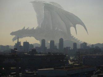 Monsters fantasy concept art characters dragons Kekai Kotaki guild wars 2 battle art big weapons •