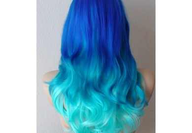 Teal Ombre Hair Pictures