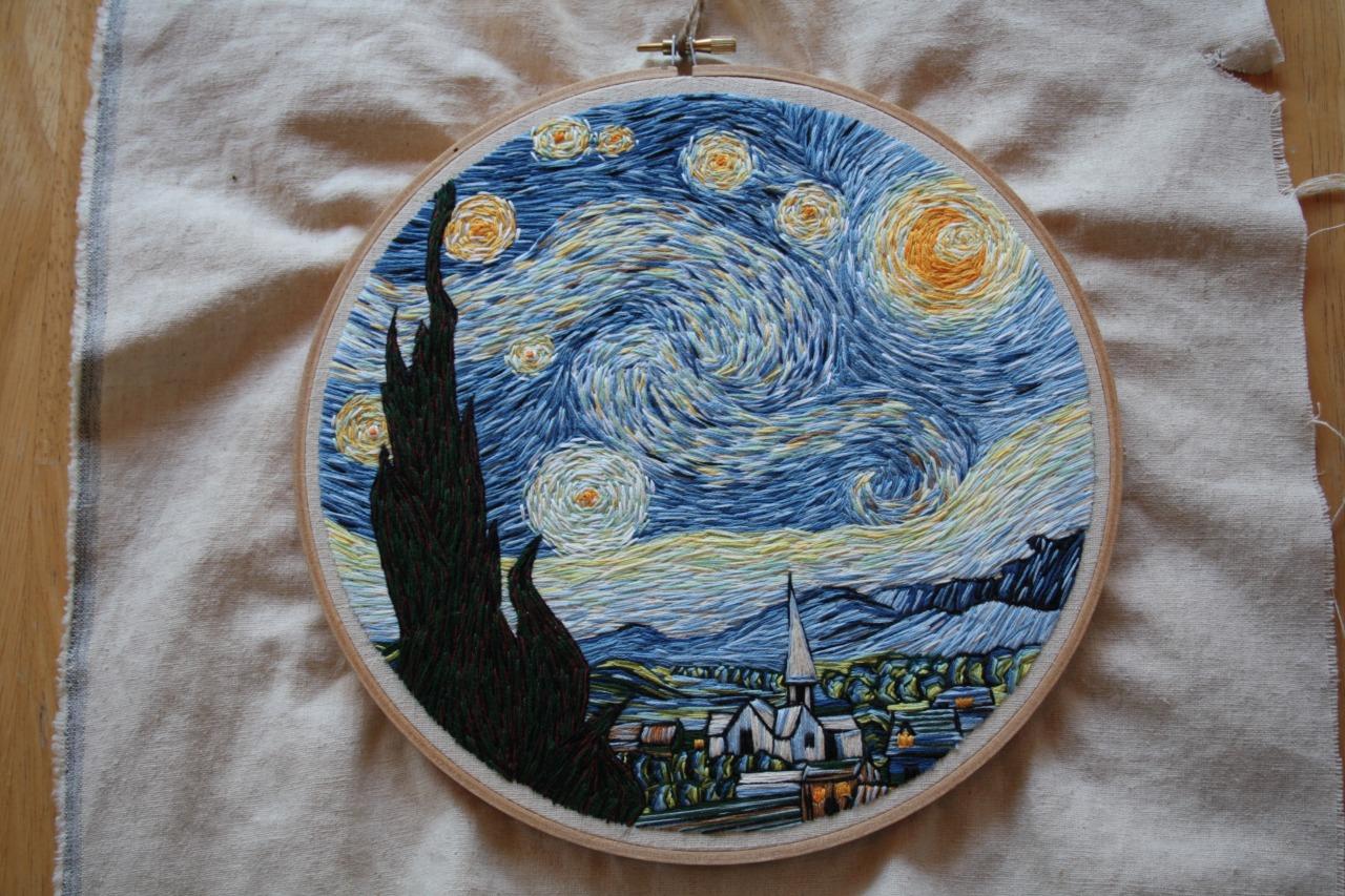 Lauren Spark Tumblr Starry Night
