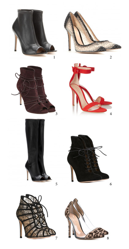 52573b773fb Open-toe leather ankle boots. Gianvito Rossi s leather ankle boots are the  perfect middle ground between formal and fun. Crafted from super-soft  leather