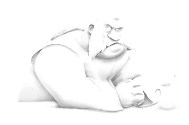Layer 3; Ambient Occlusion