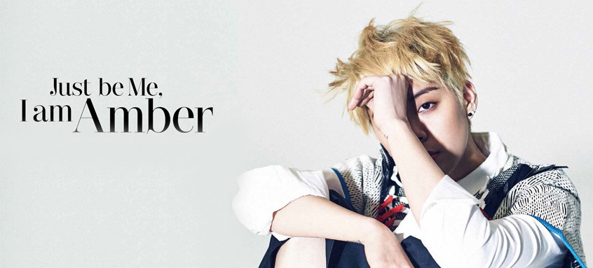 f(x) Amber - The Celebrity Magazine March Issue '15