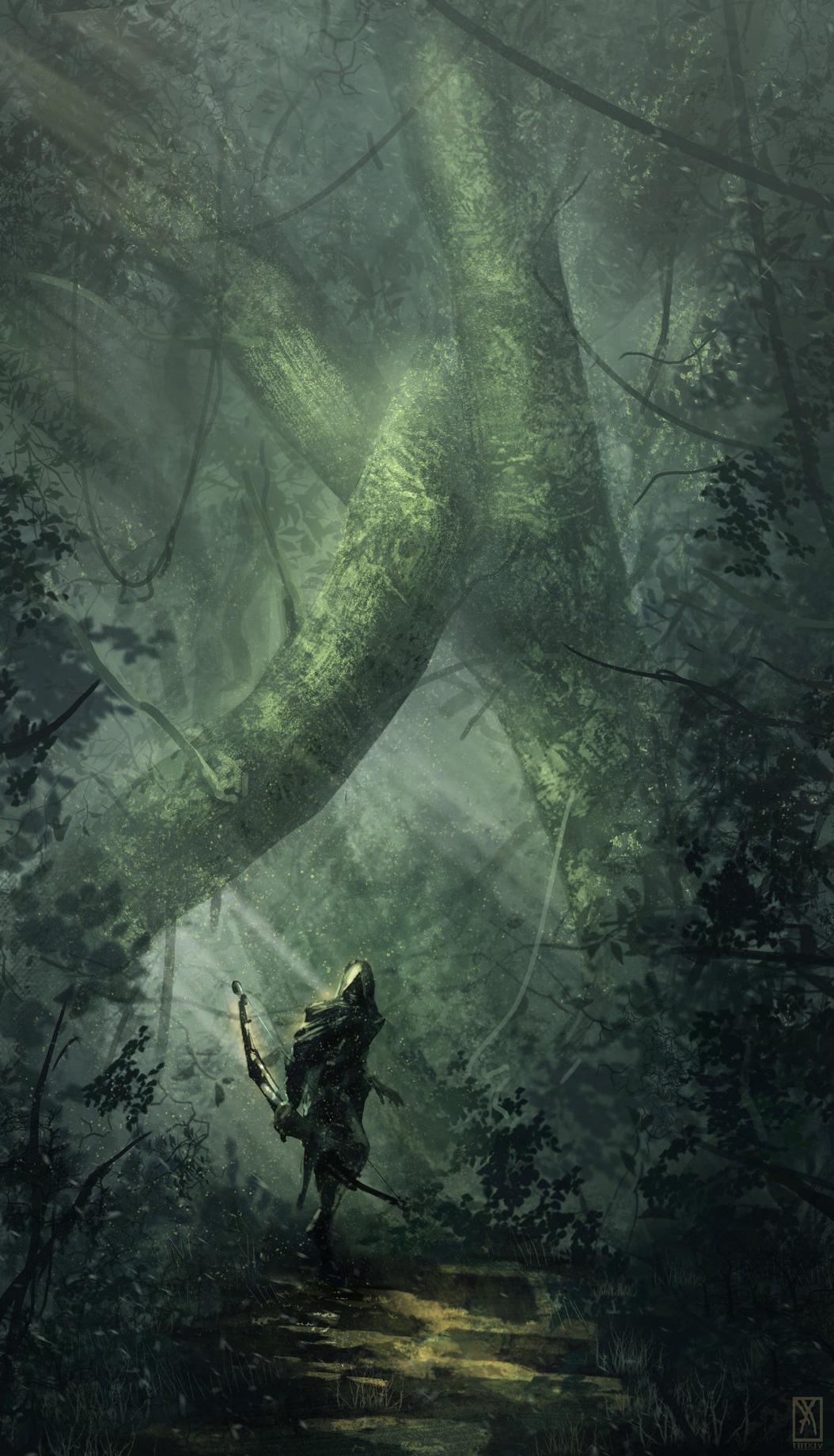 Lord Of The Rings Wallpaper Quotes Art Fantasy Thief Concept Art Digital Art Fantasy Art Epic