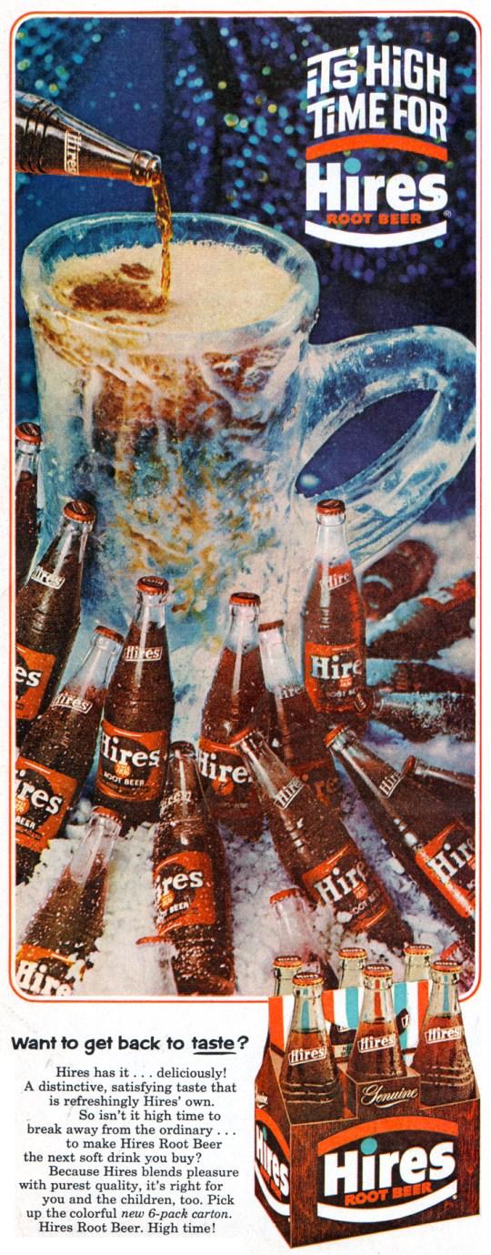 Hires Root Beer - 1965