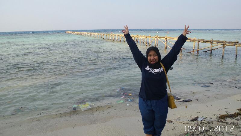 Pantai Saung Perawan Pulau Tidung