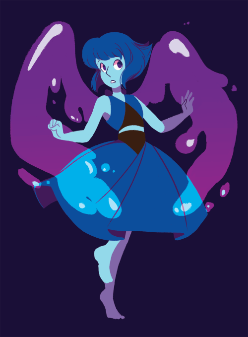 I'd really love to see more of the home world trio later on, too bad Lapis is fused with the cheese puff though. Damn it.