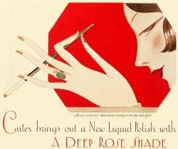 Nail Polish Ad, ca. 1926
