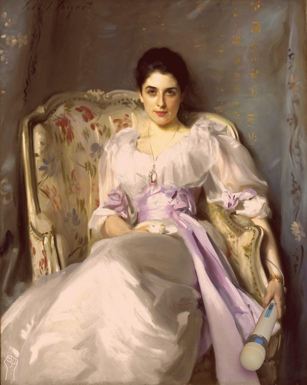 Lady Agnew of Hitachi by John Singer Sargent.