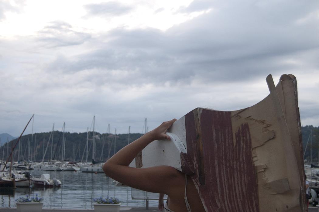 Virginia Zanetti, Kafir, Run_Spazio per artisti di passaggio #4, Lerici, 2015 ph Grazie Cantoni