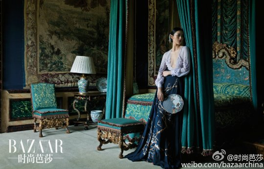 Liu Wen for Harper's Bazaar