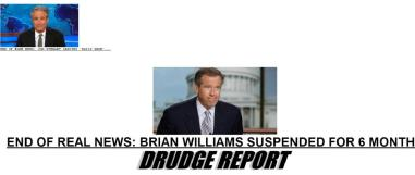 Sorry @Drudge, but I really think you should reverse the 'real' and 'fake' in your headlines tonight..