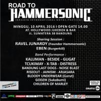 Road to Hammersonic 2016 di Bandung