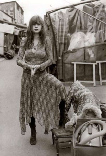 70's hippie Chic girl