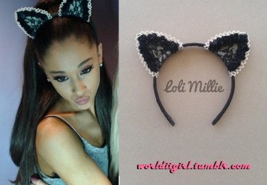 Where Can I Buy Cat Ears Like Ariana Grande