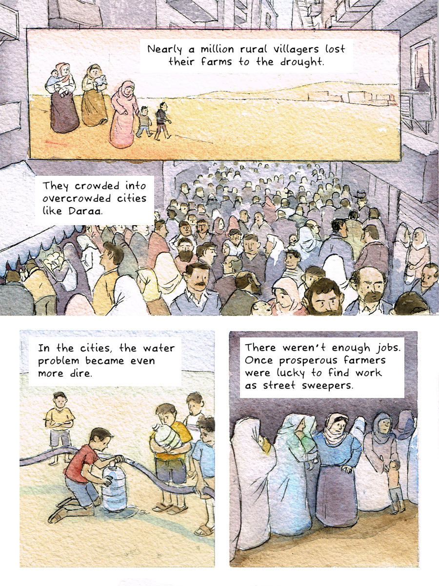 This comic was produced in partnership byYears of Living DangerouslyandSymbolia Magazine.For more amazing real life comics, get Symbolia on youriPador viaPDF.And for more information on the biggest story of our time - check outYEARS.