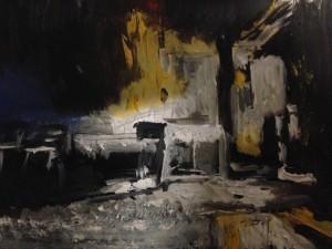 Silvia Paci, untitled, olio su carta