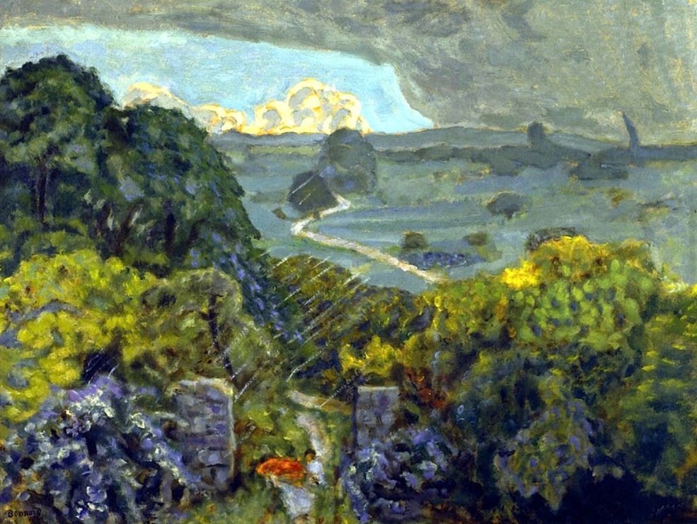 bofransson:Thunderstorm at Vernouillet 1908Pierre Bonnard