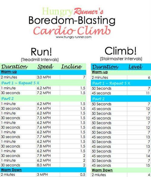 cardio climb workout