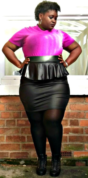 Altrisha, 24, Turks and CaicosOutfit Details: Top- BHS Skirt- Ebay Shoes- Everything 5 Pounds