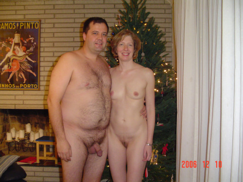 One of the first pictures of Kris and I nude.I took a...