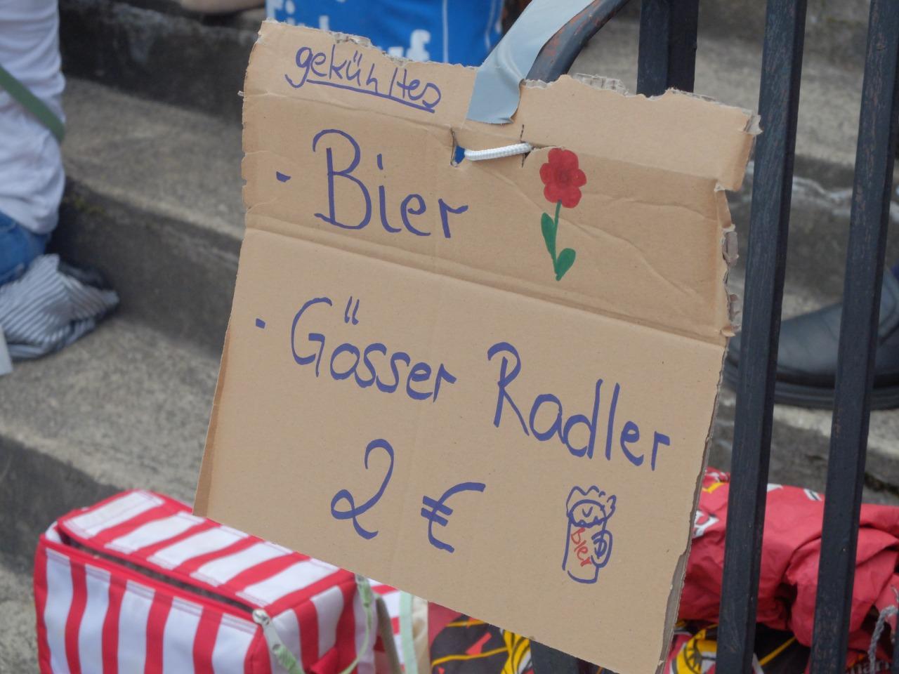 mangia minga - Gartenflohmarkt Solln