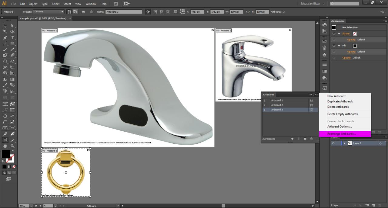 3D Adobe Illustrator