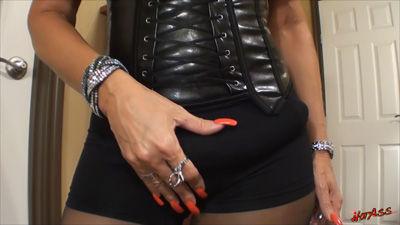 strapon bulge in public