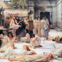 Lawrence Alma-Tadema - The Women of Amphissa (1887)