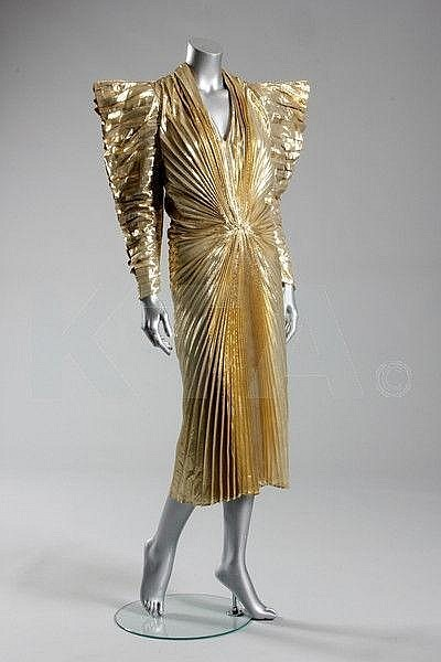 DressThierry Mugler, 1987 Kerry Taylor Auctions