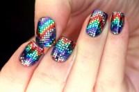 beauty sparkly nails nail art notd sparkly nails nail porn ...